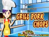 Grill Pork Chops Cooking