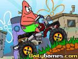 Spongebob Squarepants Patrick Motorbike