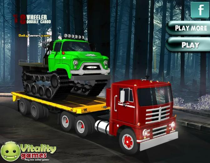 18 Wheeler Double Cargo