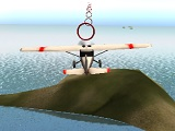 Air stunts flying simulator