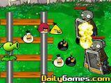 Angry Bird Vs Zombies