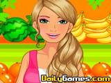 Barbie Fruiterer Dressup