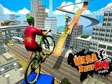 Bmx rider impossible stunt racing bicycle stunt