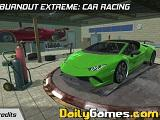 Burnout extreme car racing