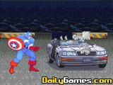Captain America Ca rRampage