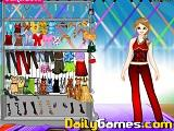 Charlene dress up game