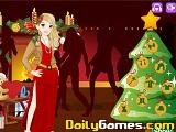 Christmas party dressup mistletoe