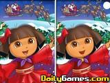 Christmas Dora The Explorer Spot 6 Diff