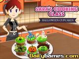 Saras Cooking Halloween Cupcakes