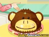 Saras Cooking Monkey Cake