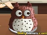 Saras Cooking Owl Cake