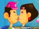 Coffee Shop Kissing