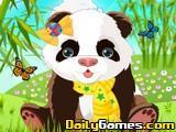 Cute Panda Dressup