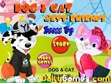 Dog and cat dressup