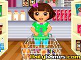 Dora Prepares for Picnic