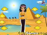 Egyptian girl dressup