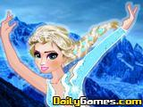 Elsa Ice Skating Dance