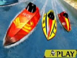 Extreme Power Boat Water Racing