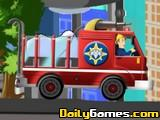 Fire Man Sam Fire Truck