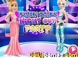 Frozen sisters night out party