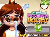 Funny nose doctor