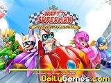 Happy superman racing