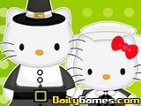 Hello Kitty Thanksgiving Party Decor