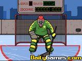 Hockey Suburban Goalie