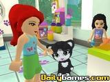 Lego Friends Pet Salon Game