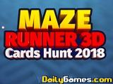 Maze runner 3d cards hunt 2018