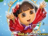 Merry Christmas Dora Puzzle