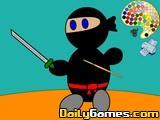 Mini Ninja Coloring