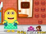 Minions fun dress up game