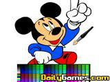 Minnie Mouse Online Coloring Game