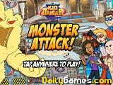 Monster attack kid danger