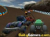 Monster truck offroad trials
