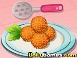 Mozzarella Risotto Balls