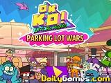 ok ko lets be heroes parking lot wars