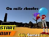 On rails shooter