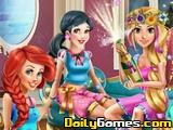 Disney Princesses Pyama Party