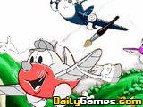 Planes Online Coloring Page