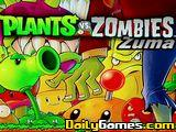 Plants Vs Zombies Zuma
