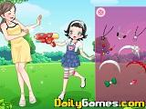 Playground girl dressup