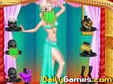 Princess belly dance