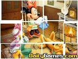 Sort my Tiles Minnie Mouse and Goofy
