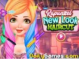 Rapunzel new look haircut