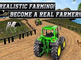 Real tractor farming simulator heavy duty tractor