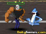 Regular Show Street Fighter