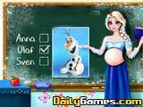 Pregnant Elsa Quiz