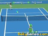 Robotic sports tennis